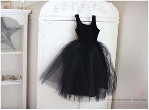 블랙 스완 드레스